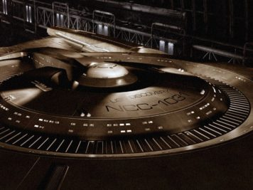 """The newest Starfleet ship in the """"STAR TREK"""" TELEVISION FRANCHISE, the """"U.S.S. DISCOVERY"""", unveiled today at COMIC-CON® INTERNATIONAL 2016 in San Diego, California. Coming to CBS Television Network and CBS ALL ACCESS in January 2017. Photo Credit: Courtesy of CBS Television Studios /©2016 CBS Television Studios. All Rights Reserved."""