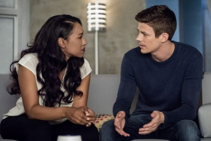 Barry and Iris discuss Rag Doll