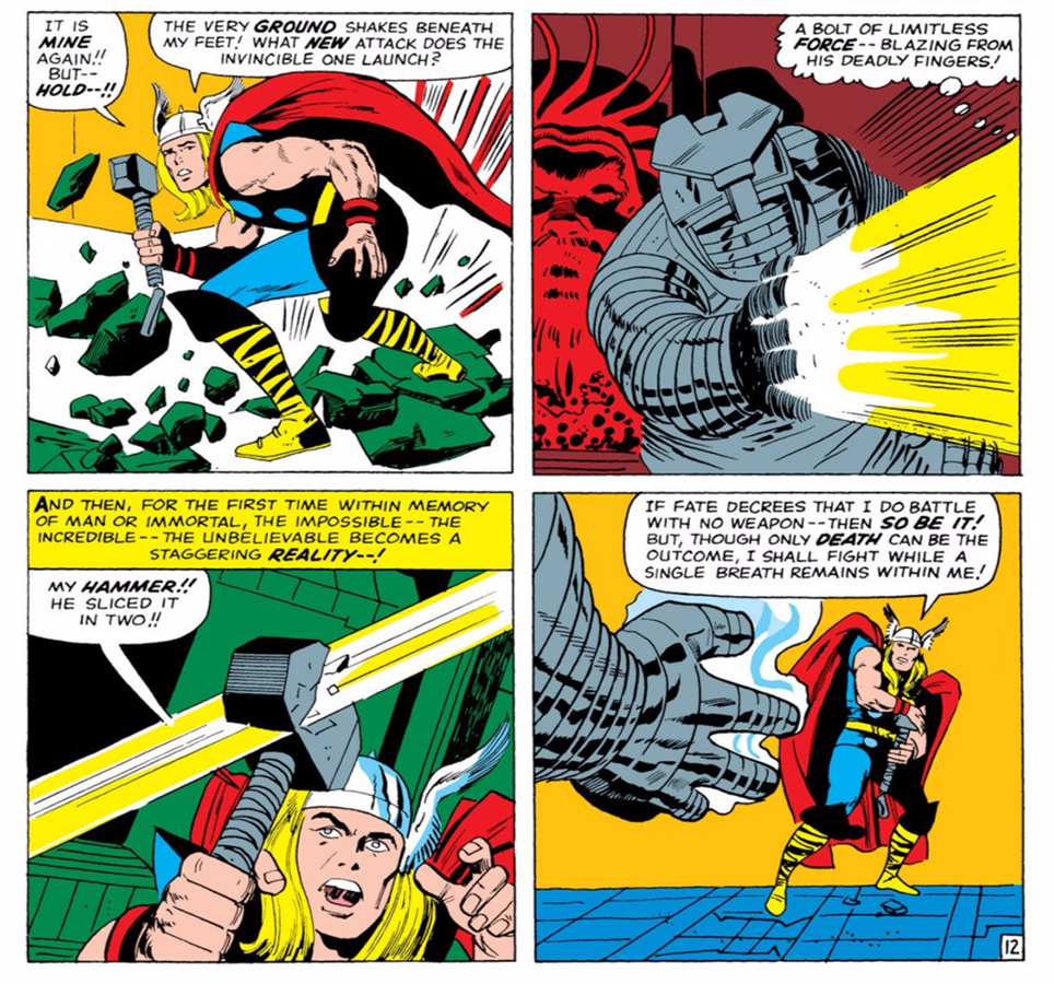 Six Times Thor's Hammer Mjolnir Has Been Broken