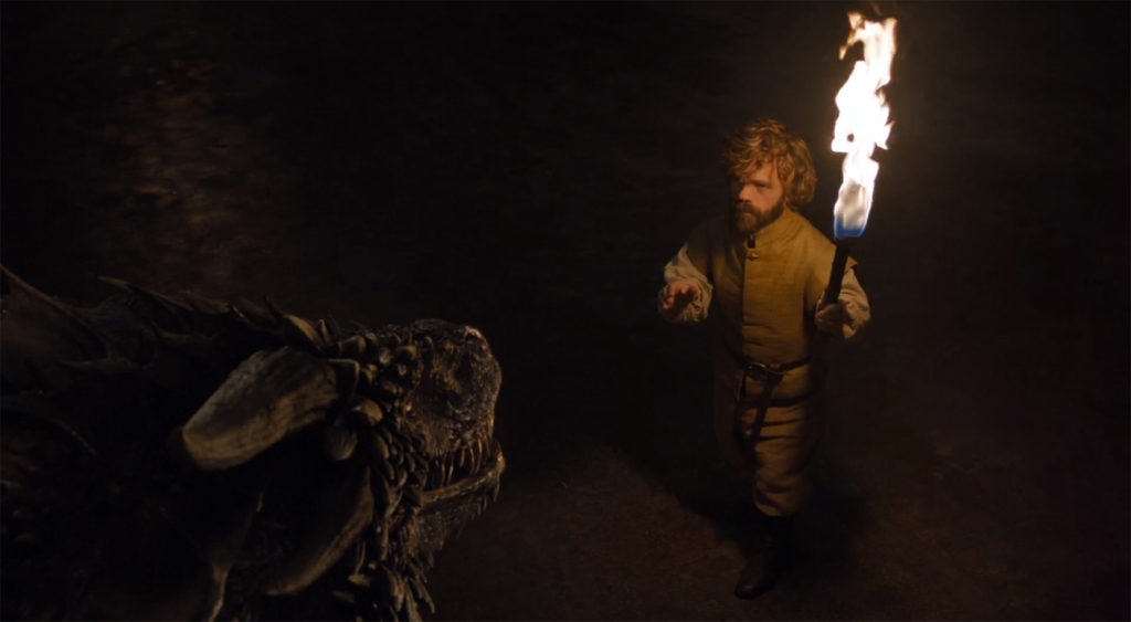 Tyrion Lannister and A Dragon