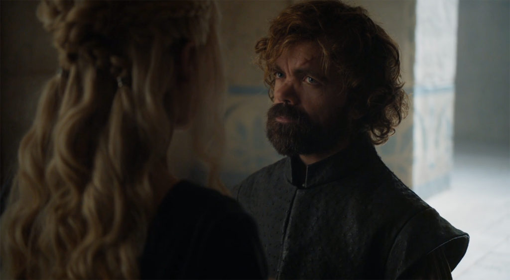Tyrion and Danaerys