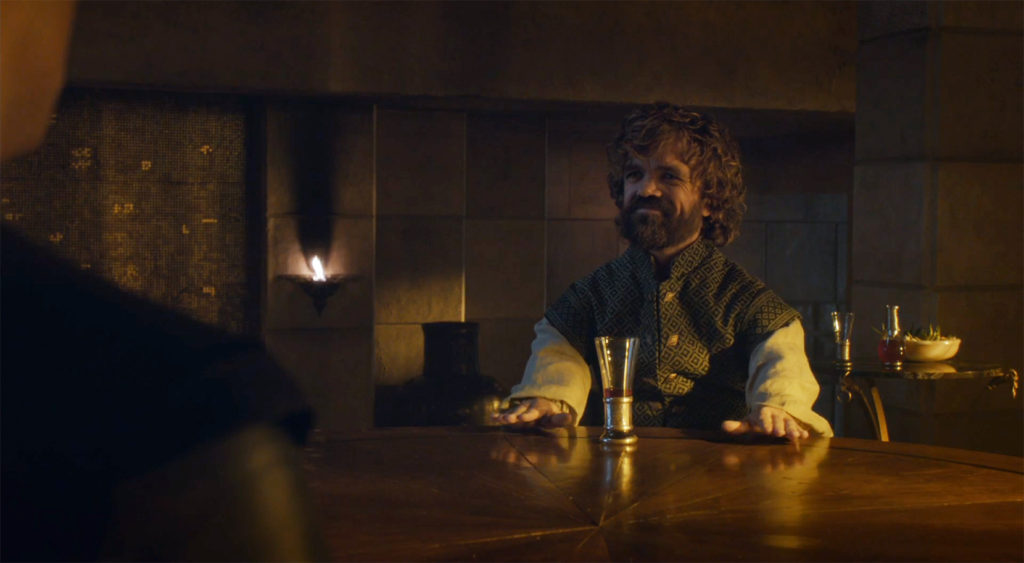Tyrion Smiling