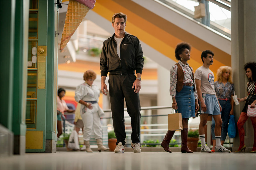 Production has begun on Wonder Woman 1984 and Chris Pine is back as Steve Trevor!