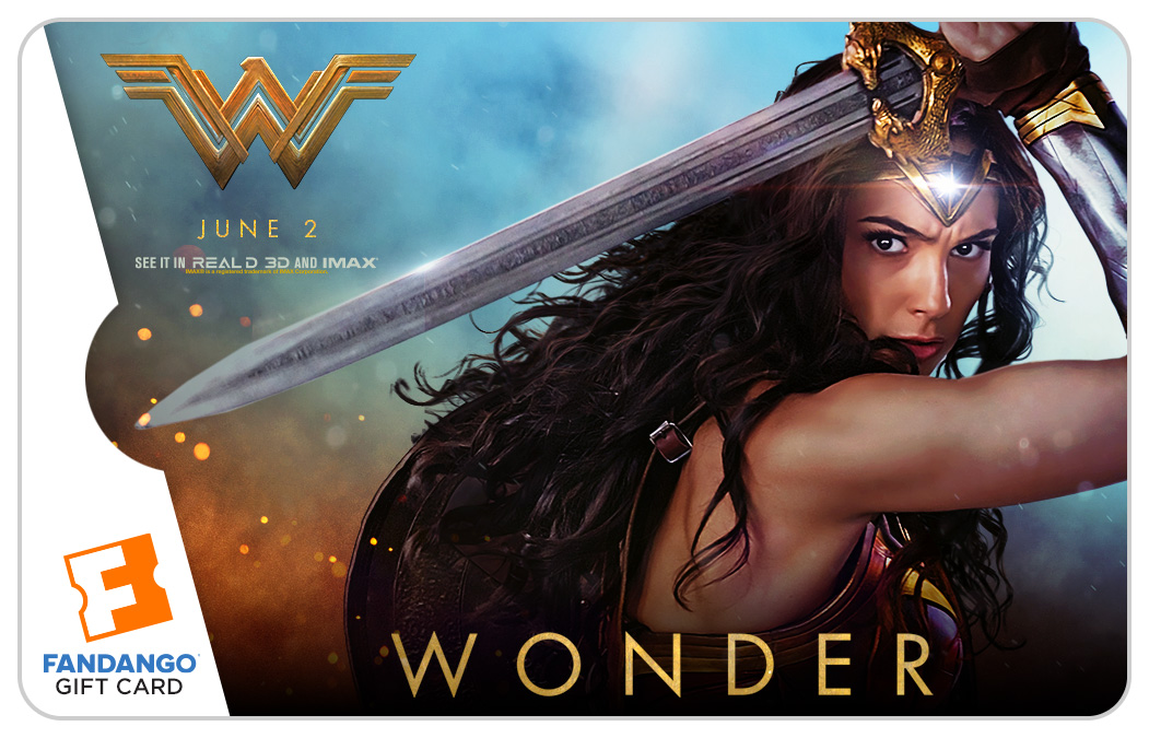 Giveaway: Win a $25 Fandango Gift Card in Honor of Wonder Woman