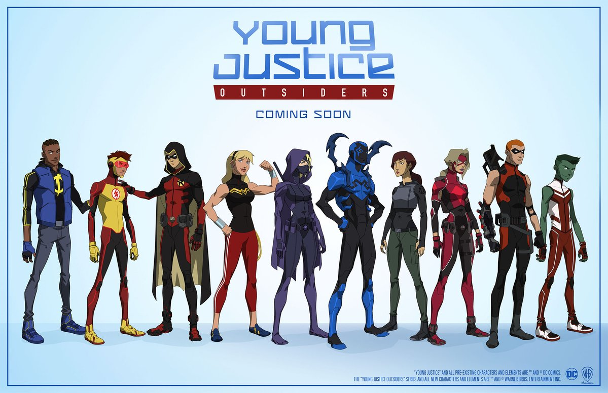 SDCC 2017: Young Justice Returns With a New Line-Up