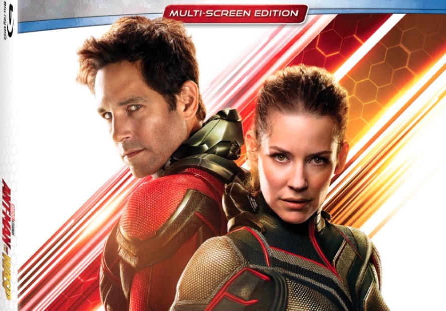 Marvel sets release date and gives info on the Blu-ray for Ant-Man and The Wasp
