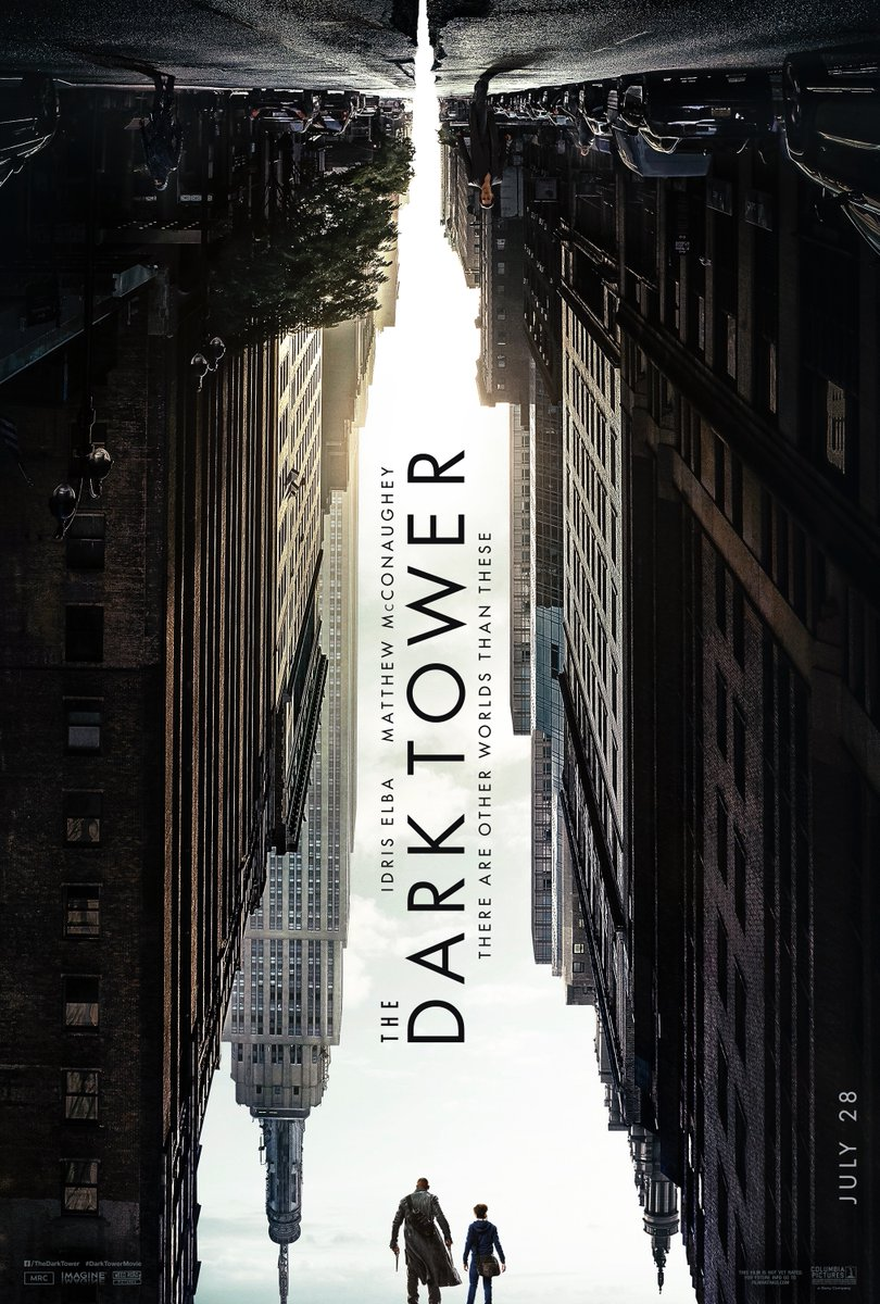 The Dark Tower Rises in New Poster