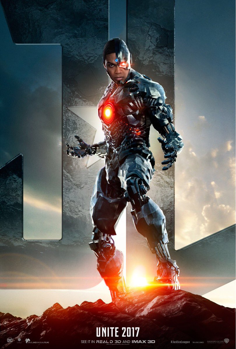 Here Comes Cyborg in New Justice League Teaser