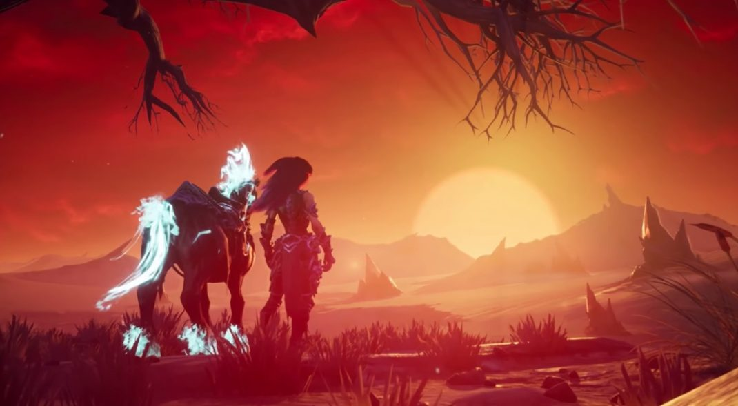 Check out Rampage, the Black Horse in the upcoming Darksiders III
