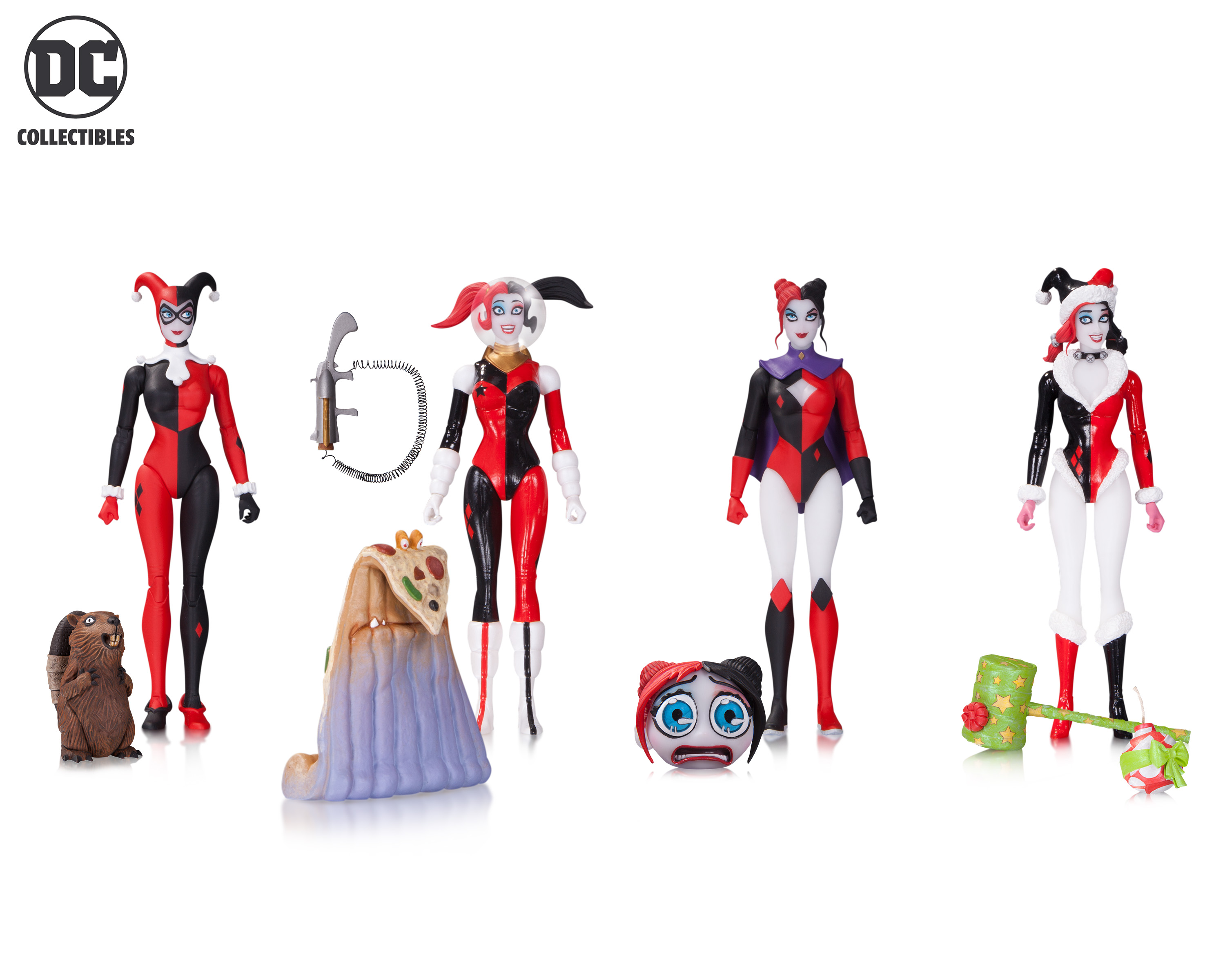 Giveaway: Win a Whole Set of Harley Quinn Figures!