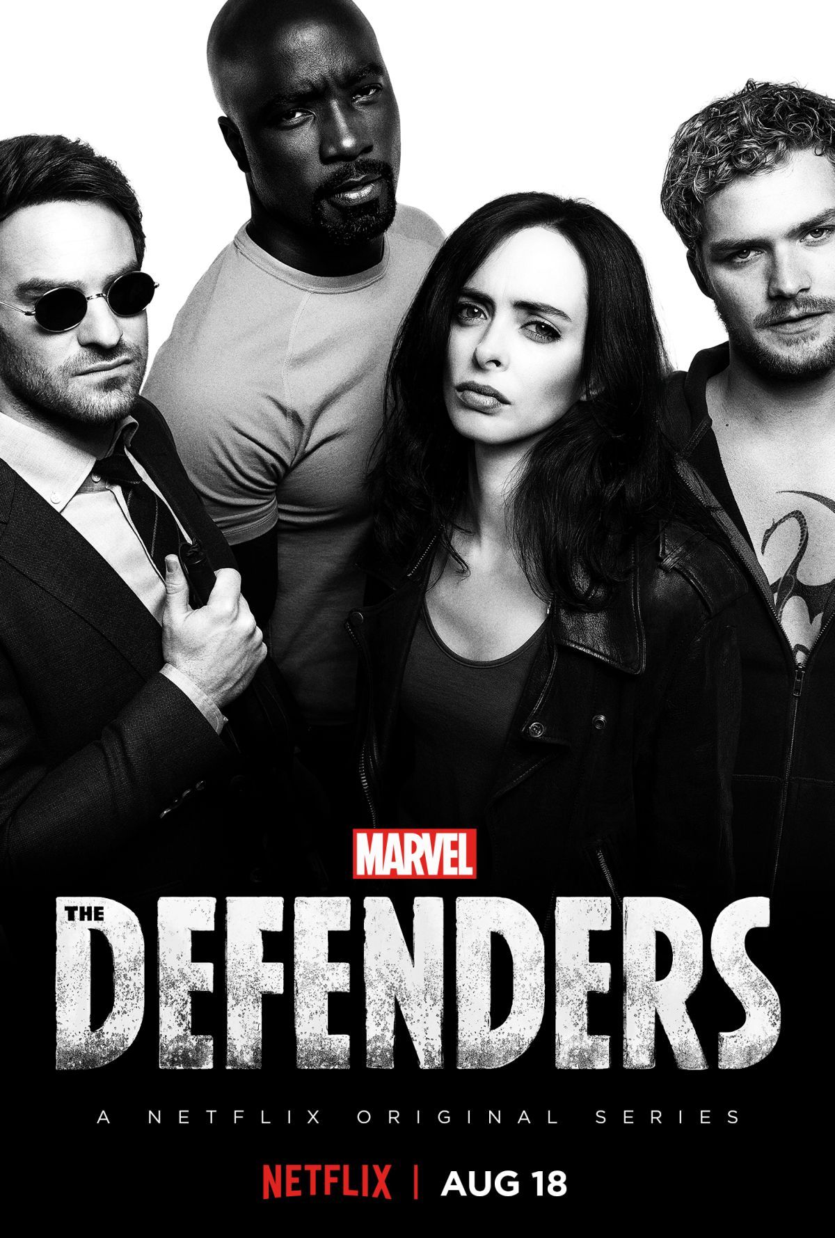 Marvel's The Defenders Join Together in New Poster
