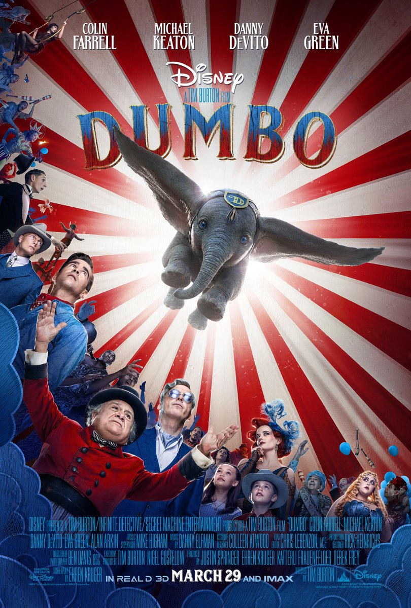 New Dumbo Trailer Soars Into Our Hearts
