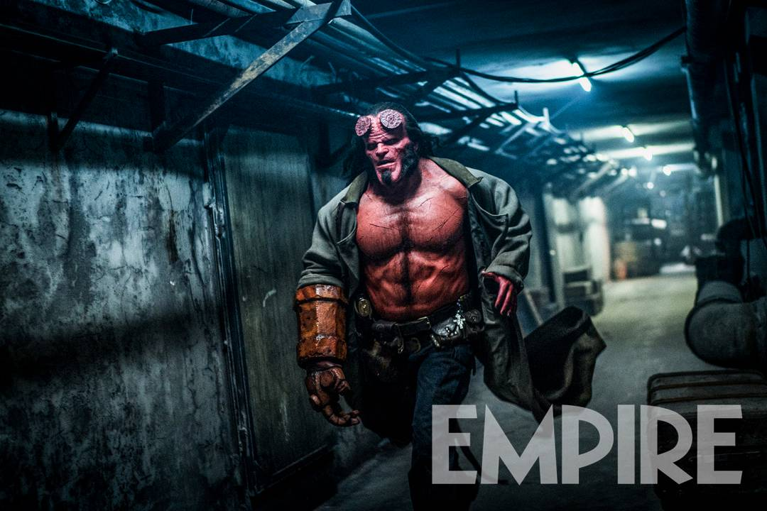 David Harbour Looks Fierce in New Hellboy Photo