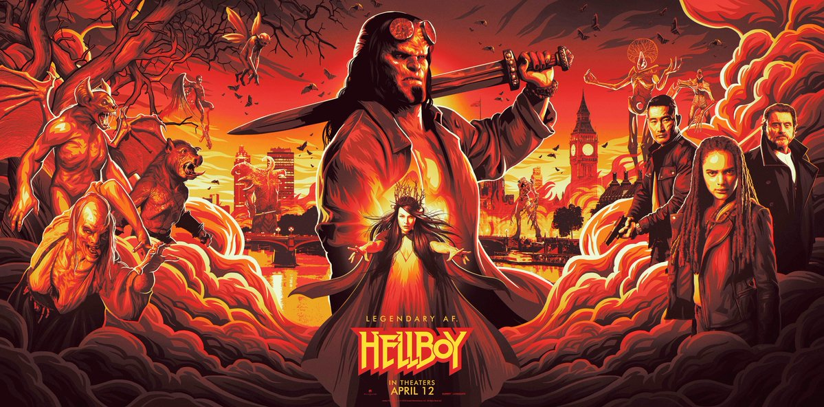 New Hellboy Banner Reveals Characters at Large