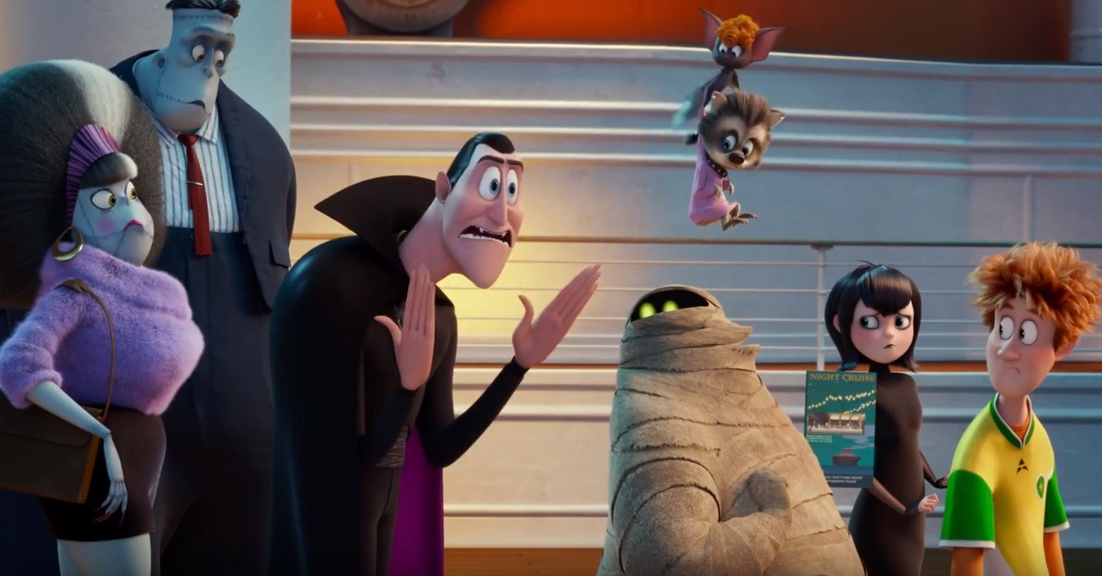 Nightmares Are Everywhere In New Hotel Transylvania 3 Trailer