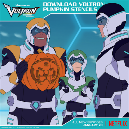 fan of voltron halloween check out these stencils welcome to