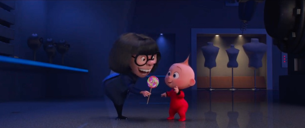 Get a sneak peek at Edna's special feature in the upcoming Incredibles 2 Blu-ray!