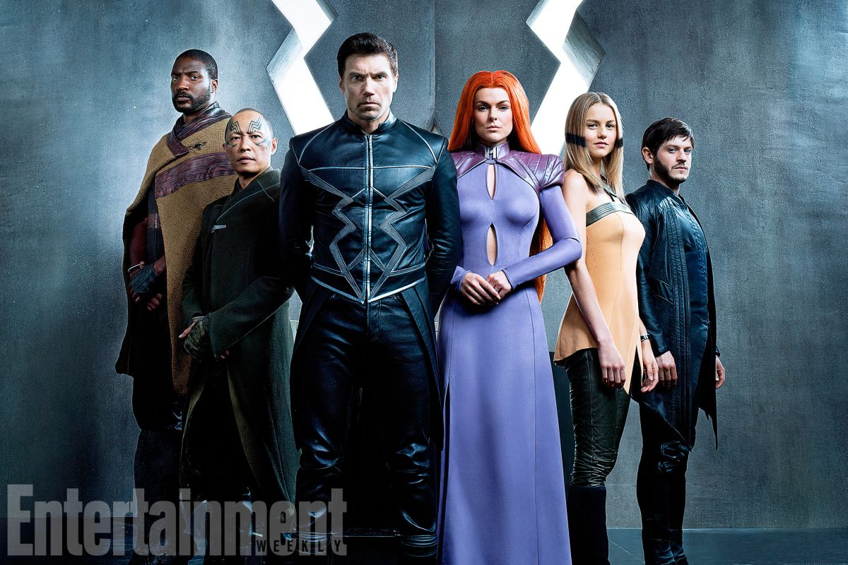 Here's Our First Look at the Royal Family in Marvel's Inhumans