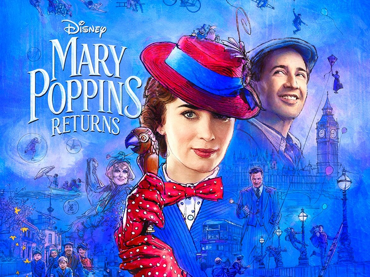 Mary Poppins Returns In First Official Trailer Welcome