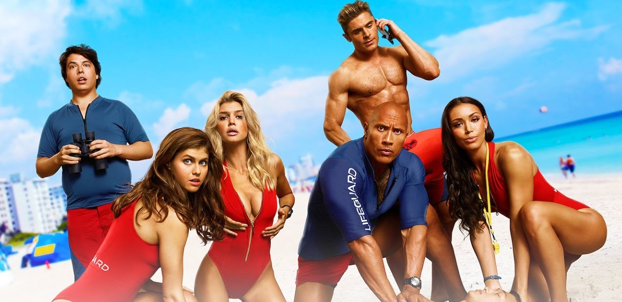 New Baywatch Posters Provide All the Bods