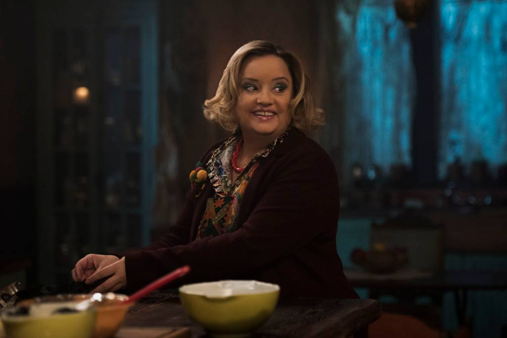 Meet Aunt Hilda from Chilling Adventures of Sabrina