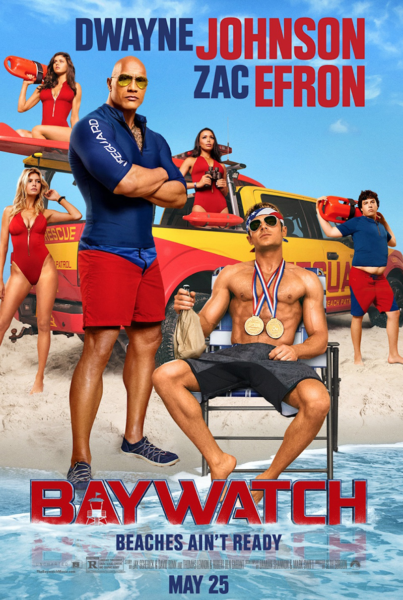 Baywatch Los Vigilantes De La Playa [HDTS-Screener][Latino]