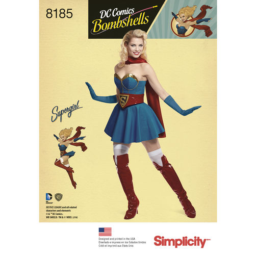 simplicity has dc bombshell patterns welcome to the