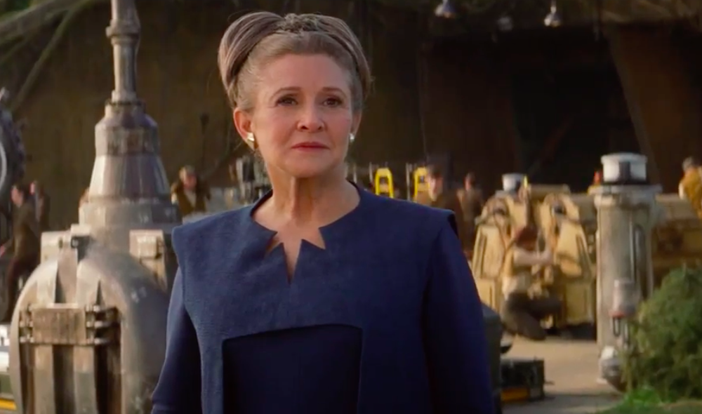 Star Wars Holds a Touching Tribute to Carrie Fisher
