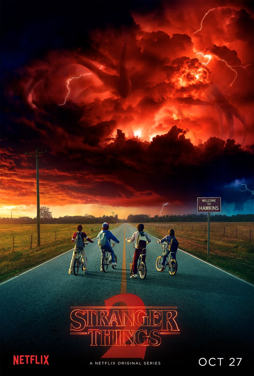 Netflix Revealed Stranger Things 2 Poster, Release Date