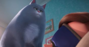 Chloe the cat wakes her human up in the worst way in the new character trailer for The Secret Life of Pets 2