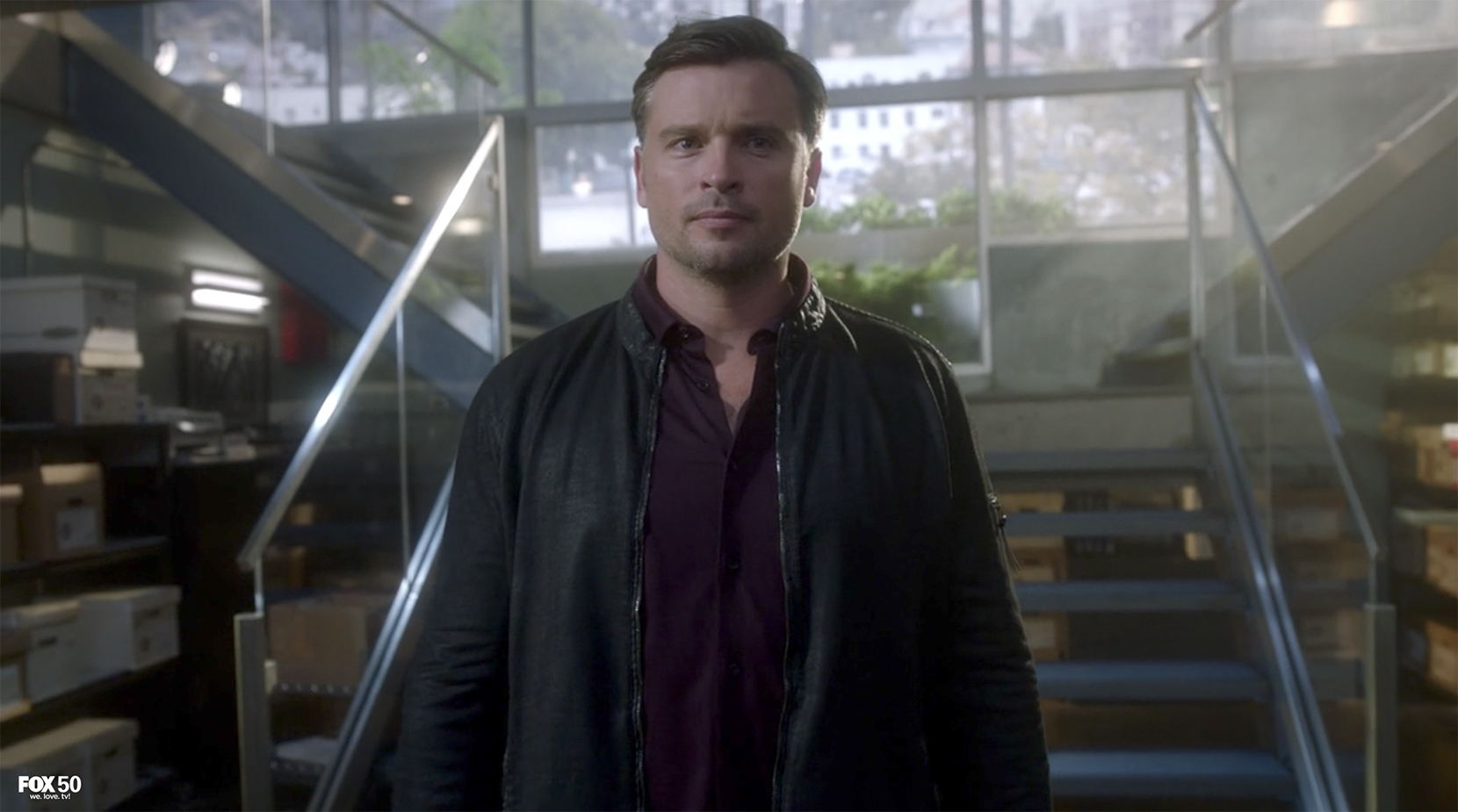 Tom Welling on Lucifer