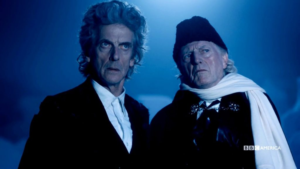 Watch the trailer for the Doctor Who Christmas special 'Twice Upon a Time' and learn about the farewell special