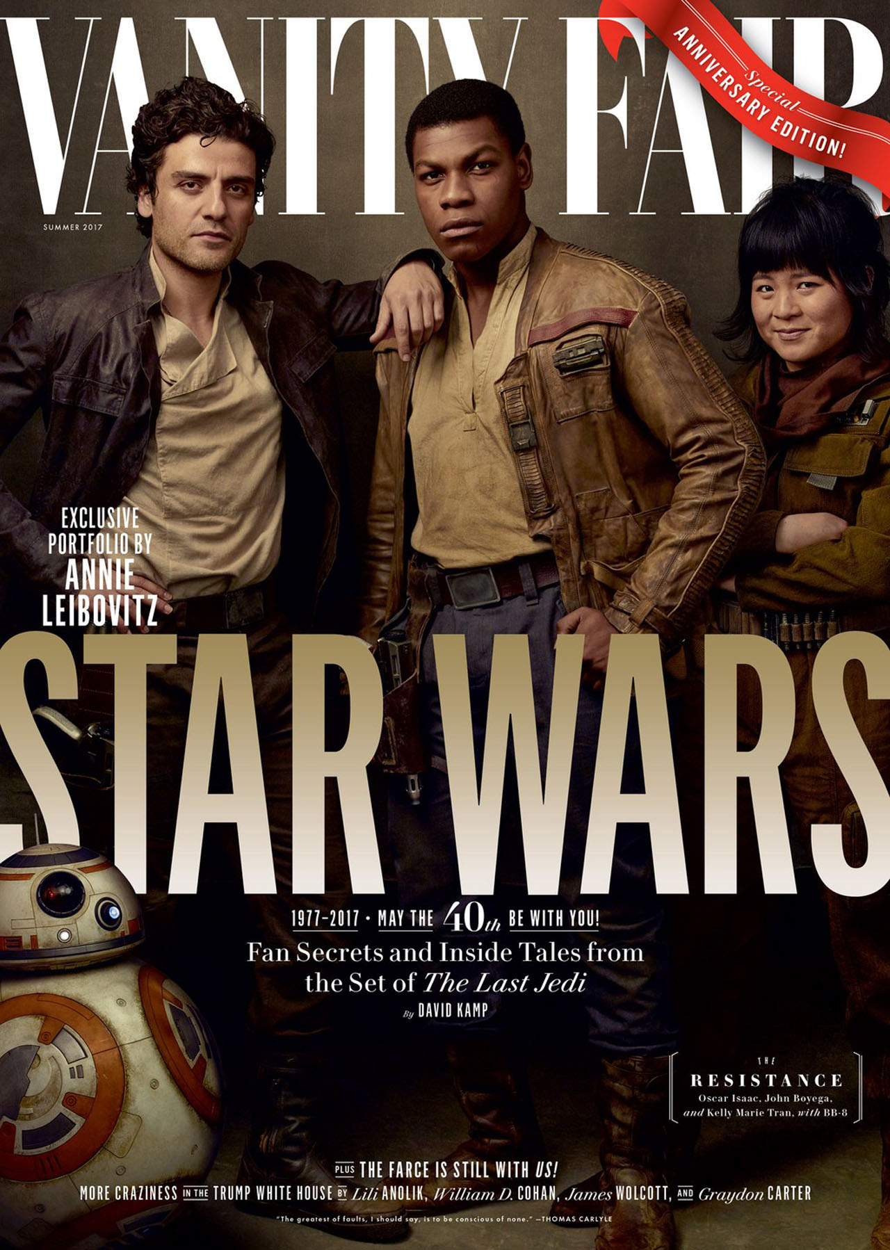 Star Wars The Last Jedi Vanity Fair Covers Released Wel e to