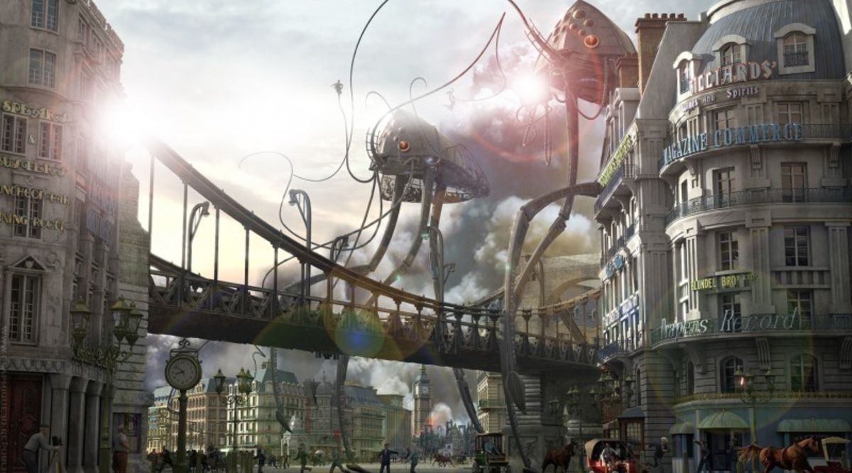 BBC is Going to Make a Victorian Era War of the Worlds for TV