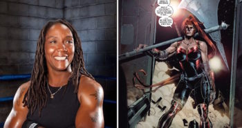 Legendary Boxer Ann Wolfe is Artemis in Wonder Woman