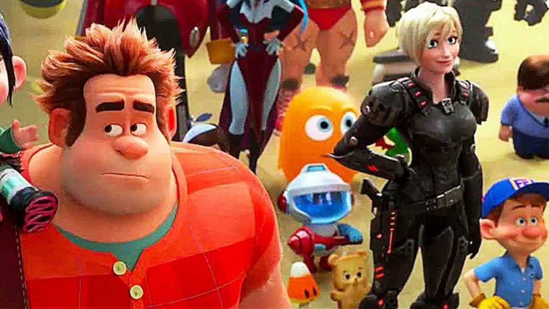 Ralph Breaks the Internet with the search bar clip